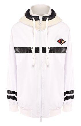 Женская куртка BURBERRY белого цвета, арт. 8021944 | Фото 1