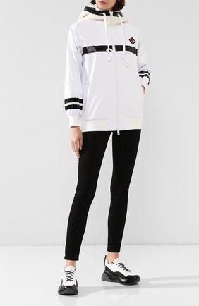 Женская куртка BURBERRY белого цвета, арт. 8021944 | Фото 2