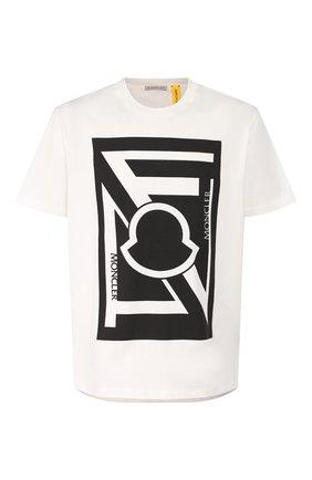Мужская хлопковая футболка 5 moncler craig green MONCLER GENIUS белого цвета, арт. E2-09H-80032-50-809E3 | Фото 1