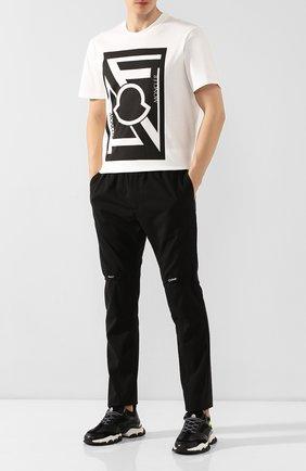 Мужская хлопковая футболка 5 moncler craig green MONCLER GENIUS белого цвета, арт. E2-09H-80032-50-809E3 | Фото 2