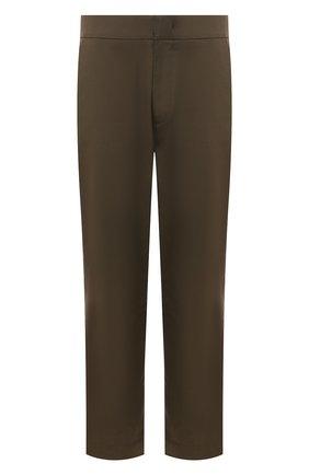 Мужской комбинированные брюки 5 moncler craig green MONCLER GENIUS хаки цвета, арт. E2-09H-11503-00-54A36 | Фото 1