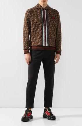 Мужские джинсы BURBERRY черного цвета, арт. 8019479 | Фото 2