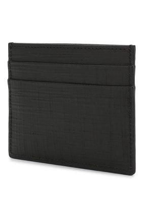 Мужской кожаный футляр для кредитных карт ERMENEGILDO ZEGNA черного цвета, арт. E1139J-LHJAK | Фото 2