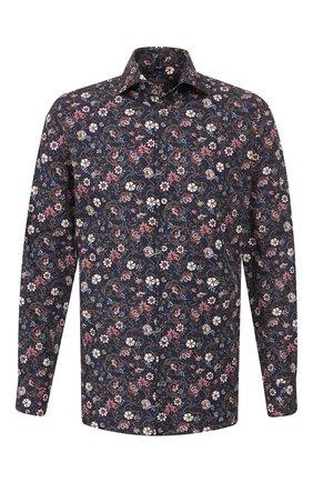 Мужская хлопковая рубашка VAN LAACK темно-синего цвета, арт. RIVARA-SF/171367 | Фото 1