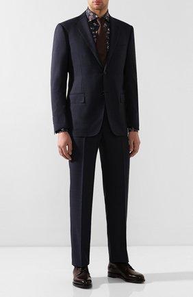 Мужская хлопковая рубашка VAN LAACK темно-синего цвета, арт. RIVARA-SF/171367 | Фото 2