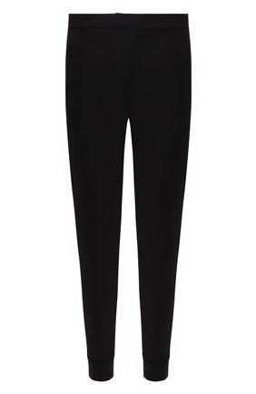 Мужские брюки из вискозы RALPH LAUREN черного цвета, арт. 790764074 | Фото 1