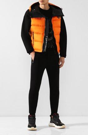 Мужские брюки из вискозы RALPH LAUREN черного цвета, арт. 790764074 | Фото 2