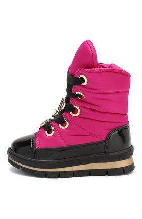 Детские утепленные ботинки JOG DOG фуксия цвета, арт. 13027R/ZAFFIR0 DINAMIC/23-28 | Фото 2