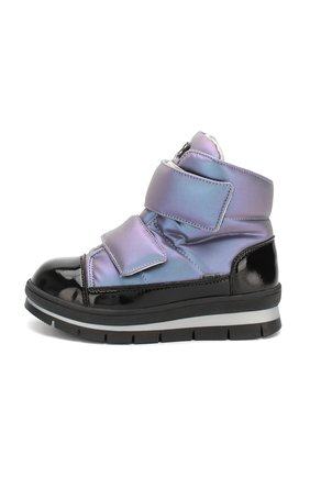 Детские утепленные ботинки JOG DOG сиреневого цвета, арт. 14039R/ZAFFIR0 LATEX/29-31 | Фото 2