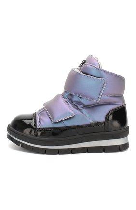 Детские утепленные ботинки JOG DOG сиреневого цвета, арт. 14039R/ZAFFIR0 LATEX/32-35 | Фото 2