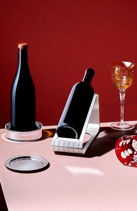 Мужского подставка для бутылки вина graphik CHRISTOFLE серебряного цвета, арт. 04244150 | Фото 2