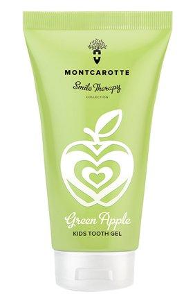 Детского детский зубной гель green apple MONTCAROTTE бесцветного цвета, арт. МС1131 | Фото 1