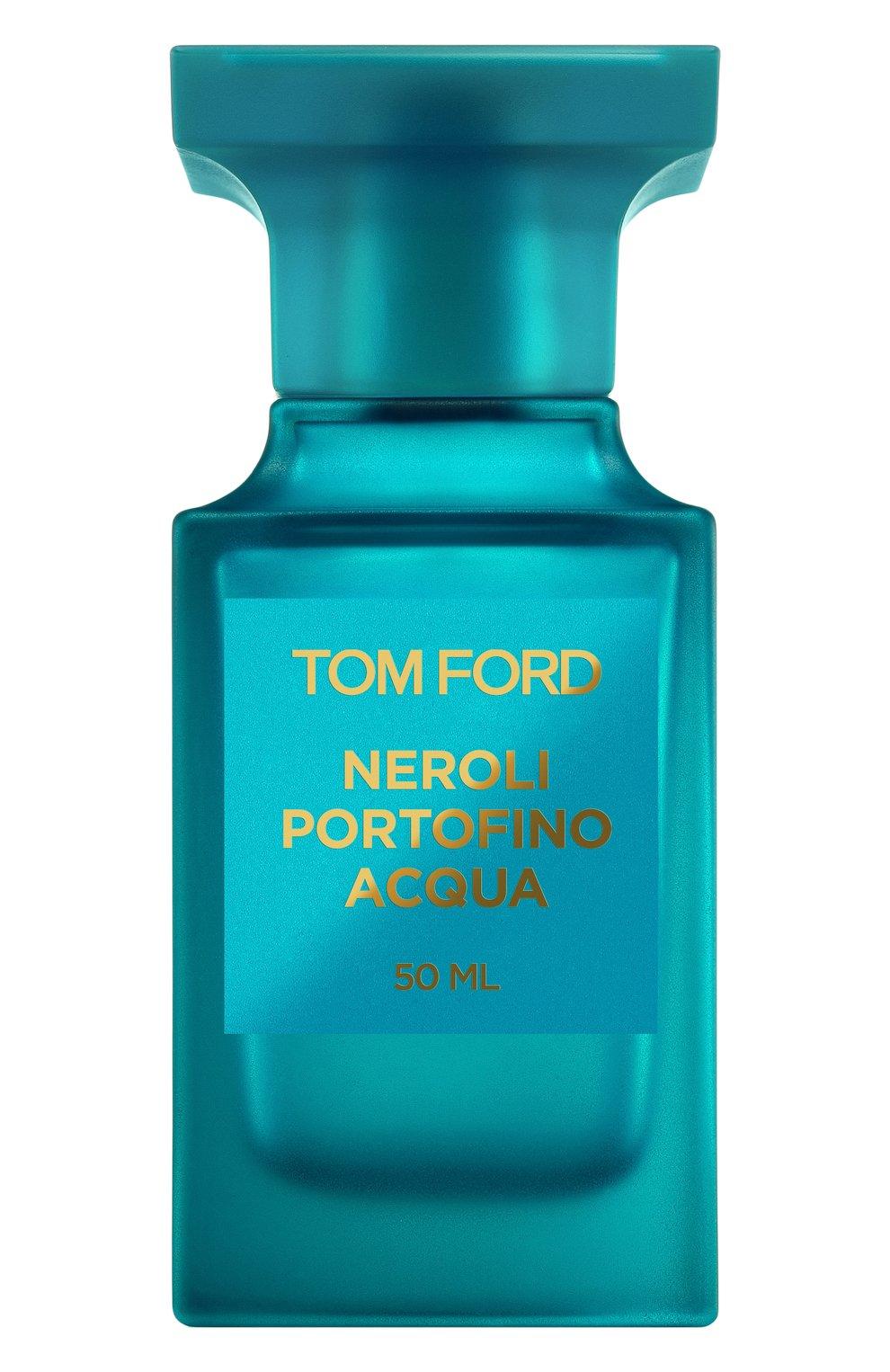 Женский туалетная вода fleur de portofino acqua TOM FORD бесцветного цвета, арт. T7N9-01   Фото 1