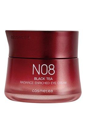 Женское насыщенный питательный крем для глаз black tea COSMETEA бесцветного цвета, арт. N08-4 | Фото 1