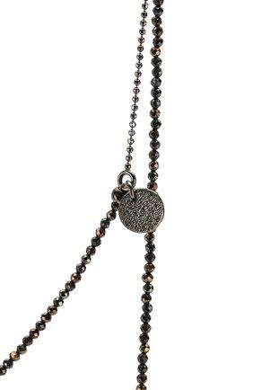 Женское колье BRUNELLO CUCINELLI серого цвета, арт. MC0W9LS50P | Фото 2