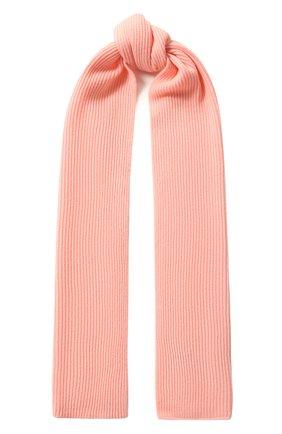 Мужские кашемировый шарф RAG&BONE розового цвета, арт. WJK19F00148T14 | Фото 1