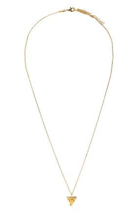 Женская кулон на цепочке HANKA_IN золотого цвета, арт. H0P-C039-MJA | Фото 1