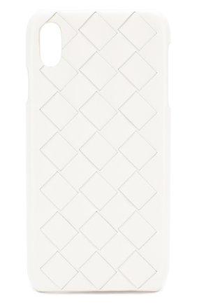 Мужской чехол для iphone xs max BOTTEGA VENETA белого цвета, арт. 592071/VMBI2 | Фото 1