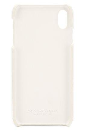 Мужской чехол для iphone xs max BOTTEGA VENETA белого цвета, арт. 592071/VMBI2 | Фото 2