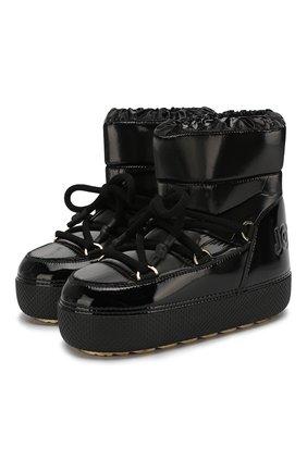 Текстильные ботинки | Фото №1