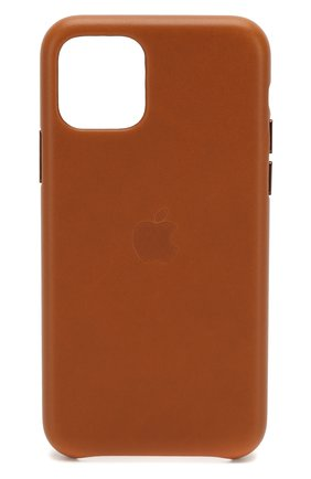 Мужской чехол для iphone 11 pro APPLE  коричневого цвета, арт. MWYD2ZM/A | Фото 1