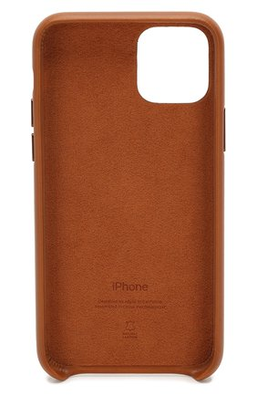 Мужской чехол для iphone 11 pro APPLE коричневого цвета, арт. MWYD2ZM/A | Фото 2