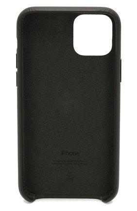 Мужской чехол для iphone 11 pro APPLE  черного цвета, арт. MWYE2ZM/A | Фото 2