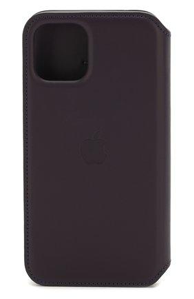 Мужской чехол для iphone 11 pro APPLE фиолетового цвета, арт. MX072ZM/A | Фото 2