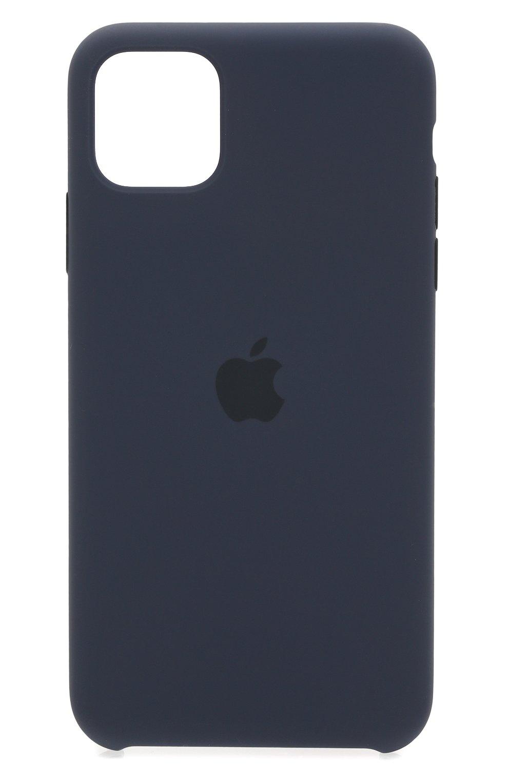 Чехол для iphone 11 pro max APPLE  синего цвета, арт. MWYW2ZM/A | Фото 1