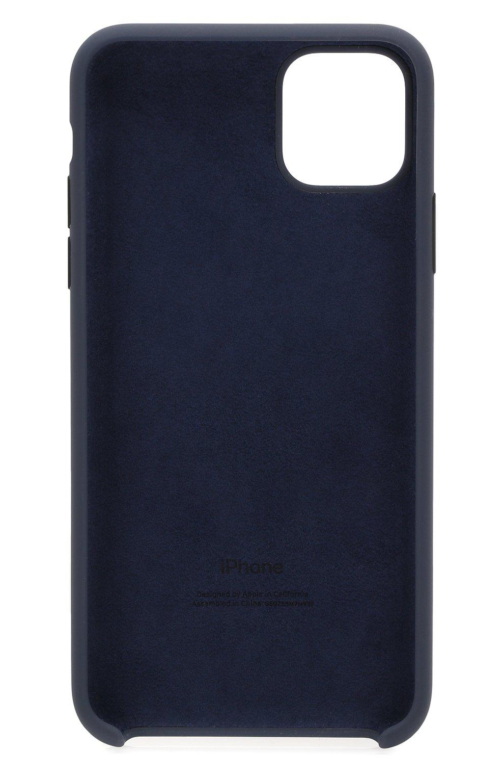 Чехол для iphone 11 pro max APPLE  синего цвета, арт. MWYW2ZM/A | Фото 2