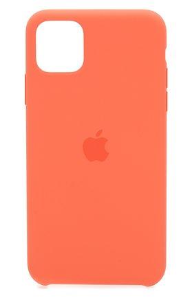 Мужской чехол для iphone 11 pro max APPLE оранжевого цвета, арт. MX022ZM/A | Фото 1