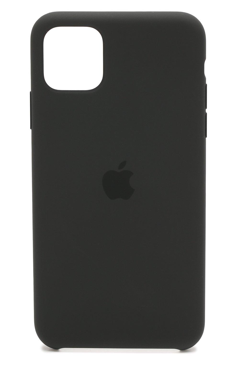 Чехол для iphone 11 pro max APPLE  черного цвета, арт. MX002ZM/A   Фото 1