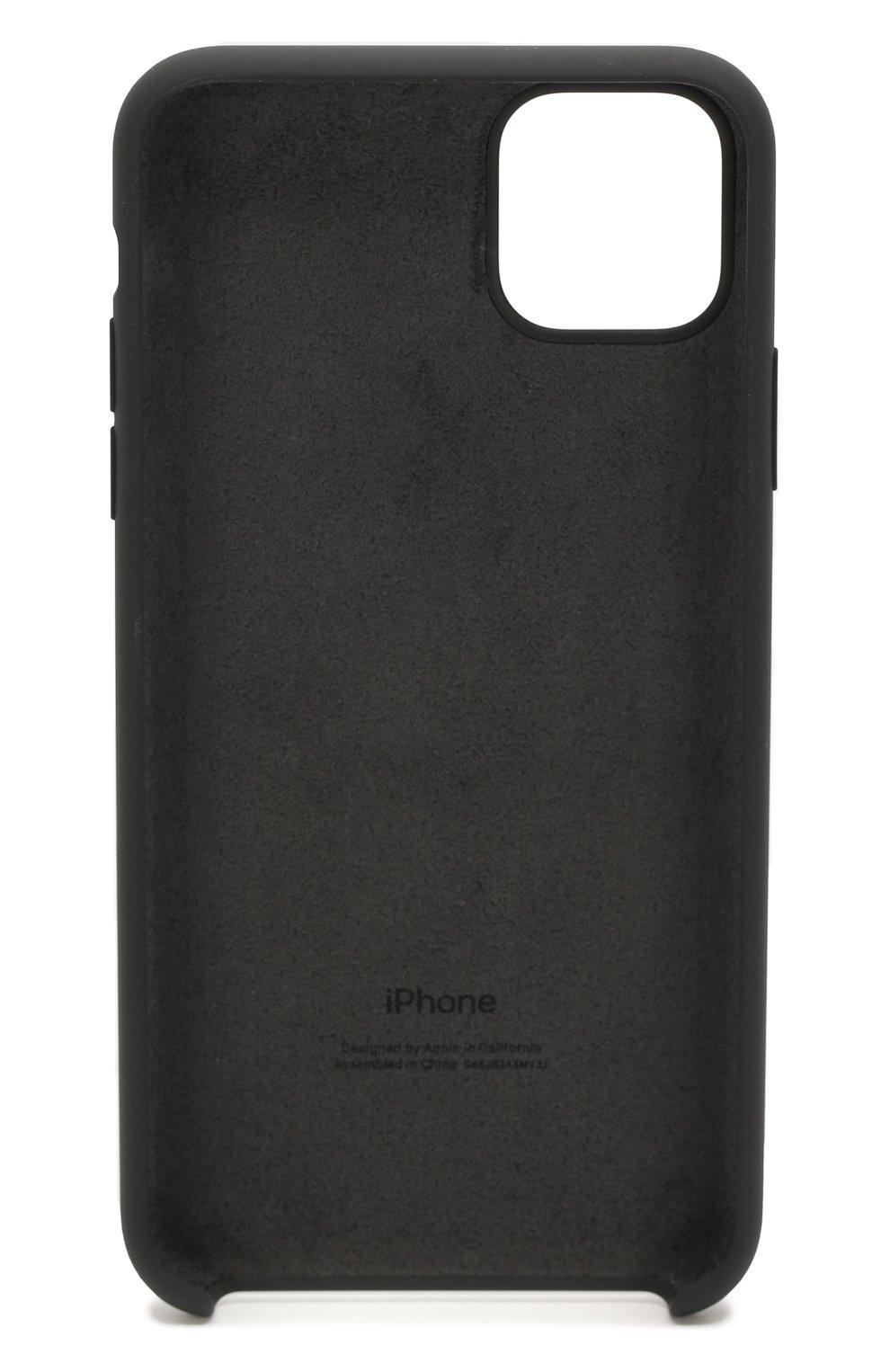 Чехол для iphone 11 pro max APPLE  черного цвета, арт. MX002ZM/A   Фото 2