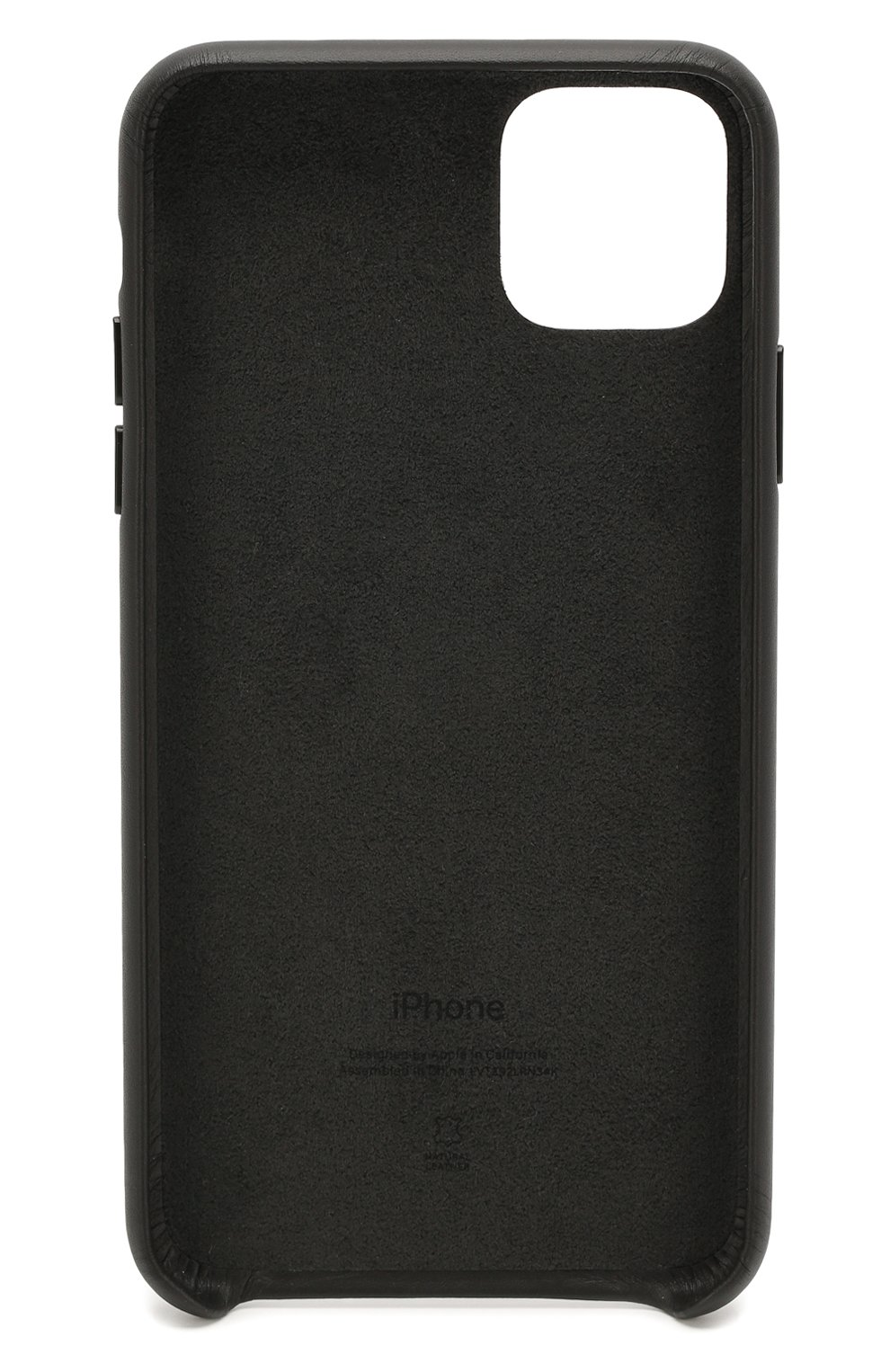 Чехол для iphone 11 pro max APPLE  черного цвета, арт. MX0E2ZM/A | Фото 2