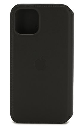 Мужской чехол для iphone 11 pro APPLE  черного цвета, арт. MX062ZM/A | Фото 2