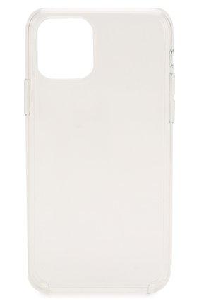 Мужской чехол для iphone 11 pro APPLE  прозрачного цвета, арт. MWYK2ZM/A | Фото 1