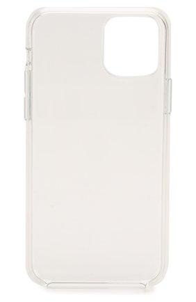 Мужской чехол для iphone 11 pro APPLE  прозрачного цвета, арт. MWYK2ZM/A | Фото 2