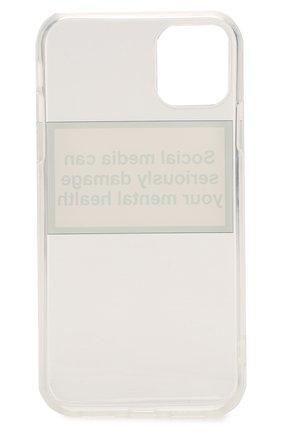 Мужской чехол для iphone 11 MISHRABOO прозрачного цвета, арт. Social media 11 | Фото 2