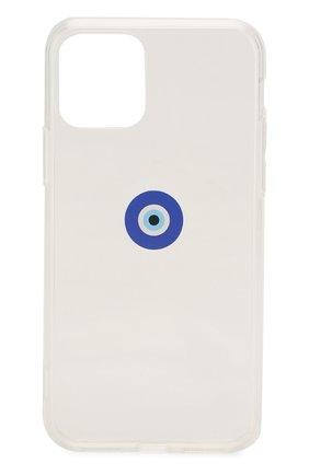 Мужской чехол для iphone 11 pro MISHRABOO прозрачного цвета, арт. Eye 11 Pro   Фото 1