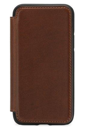 Мужской чехол для iphone 11 pro NOMAD коричневого цвета, арт. NM21WR0000 | Фото 1