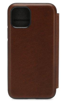 Мужской чехол для iphone 11 pro NOMAD коричневого цвета, арт. NM21WR0000 | Фото 2