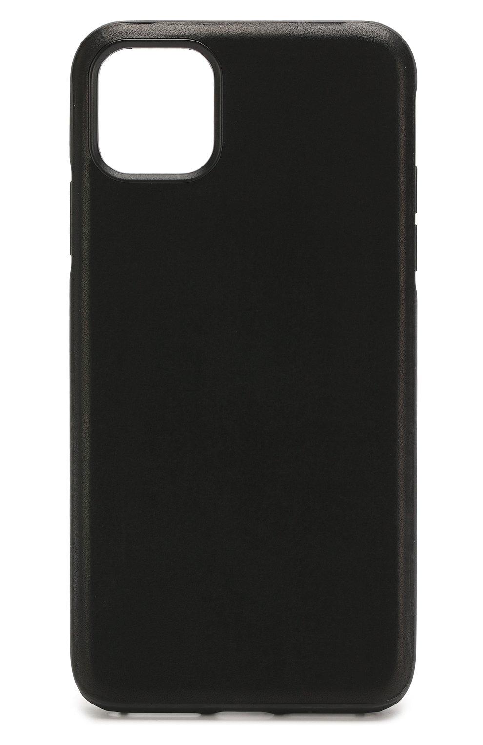 Чехол для iphone 11 pro max NOMAD черного цвета, арт. NM21Y10R00 | Фото 1 (Женское Кросс-КТ: Кожа iPhone; Материал: Кожа)