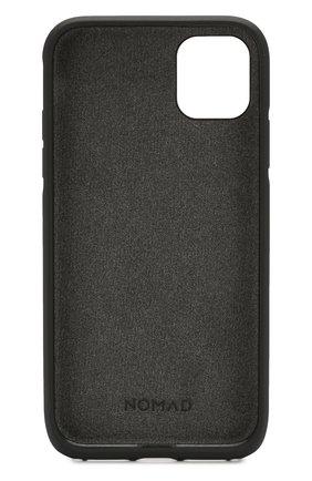 Мужской чехол для iphone 11 NOMAD коричневого цвета, арт. NM21XR0R00 | Фото 2