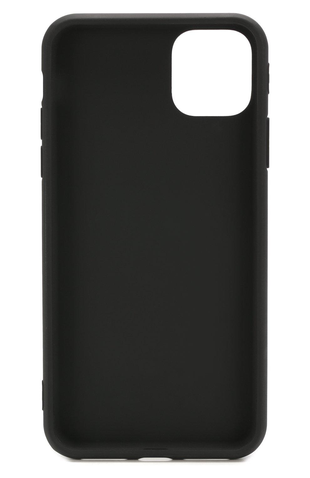 Мужской чехол для iphone 11 pro max MISHRABOO черного цвета, арт. No eat no sex 11 Pro Max   Фото 2