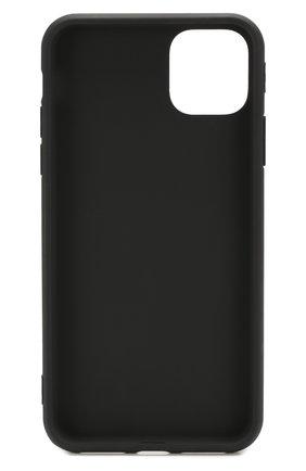 Мужской чехол для iphone 11 pro max MISHRABOO черного цвета, арт. No eat no sex 11 Pro Max | Фото 2