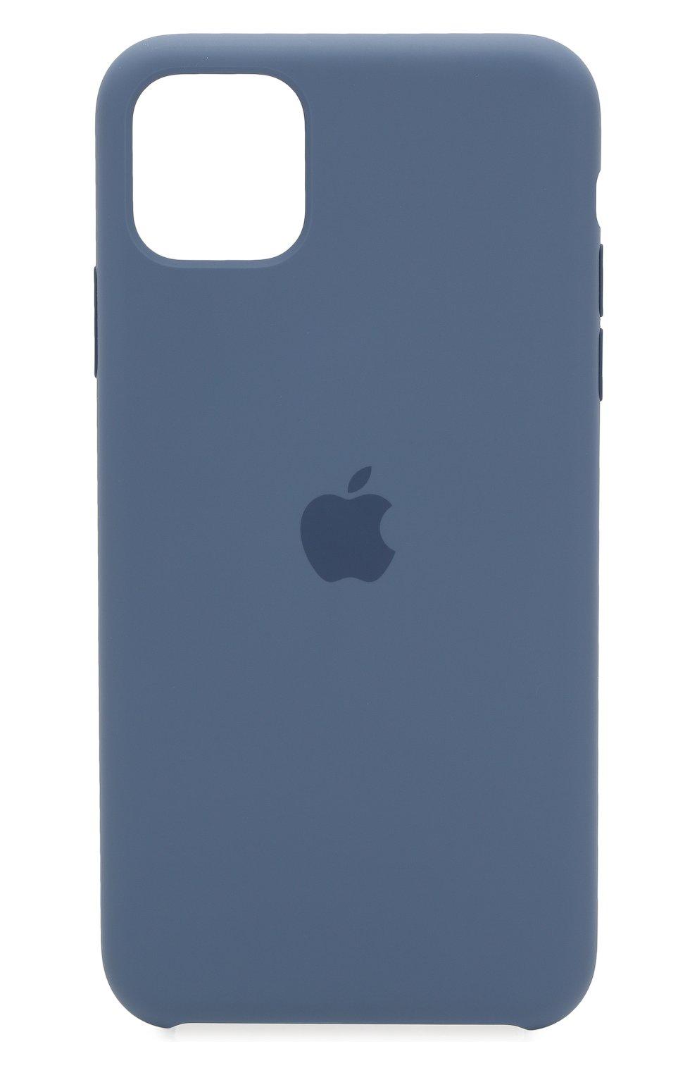Чехол для iphone 11 pro max APPLE  синего цвета, арт. MX032ZM/A | Фото 1