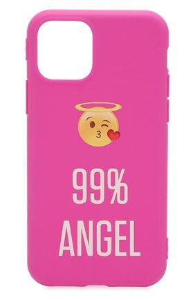 Мужской чехол для iphone 11 pro MISHRABOO розового цвета, арт. Angel 11 Pro | Фото 1