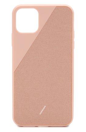 Мужской чехол для iphone 11 pro max NATIVE UNION розового цвета, арт. CCAV-ROS-NP19L | Фото 1