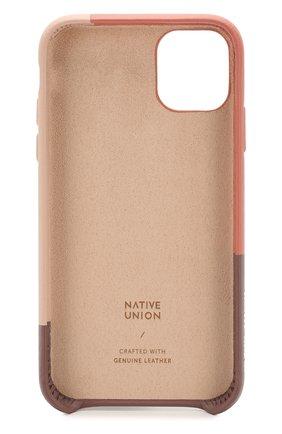 Мужской чехол для iphone 11 NATIVE UNION розового цвета, арт. CMARQ-ROS-NP19M | Фото 2