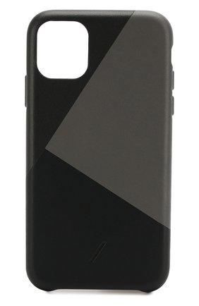 Мужской чехол для iphone 11 NATIVE UNION черного цвета, арт. CMARQ-BLK-NP19M | Фото 1